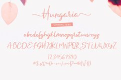 Hungaria - Sophisticated Script Font Product Image 6