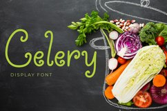 Celery Display Font Product Image 1