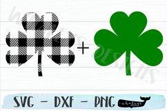Buffalo Checked Clover - Shamrock - Saint Patrick's Day Product Image 2