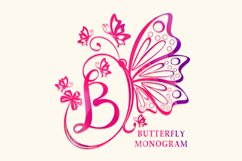 Butterfly Monogram Product Image 1