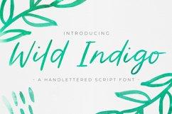 Wild Indigo Script Font Product Image 1