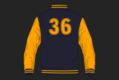 College Stitched Sport Font Product Image 2
