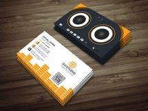 DJ Studio Business Card Product Image 4
