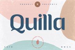 Quilla multipurpose elegant font Product Image 1