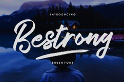 Bestrong - Brush Font Product Image 1