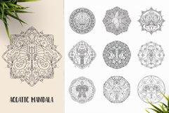 530 Vector Mandala Ornaments Bundle Product Image 6