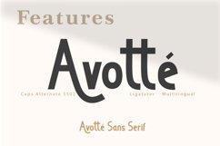 Avotte San Serif Product Image 5
