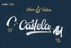 Castela 3 fonts with extras Product Image 2