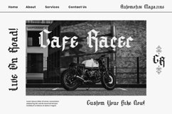 Archking - Blackletter Typeface Product Image 2