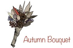 Autumn / Fall Illustration. PNG - sublimation / clipart Product Image 1