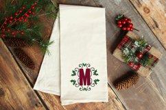 Christmas Holly Monogram & Split Alphabet Duo Product Image 6