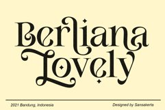 Berliana Lovely Serif Product Image 1