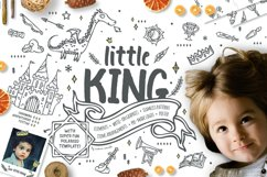 Little King - Prince Graphic Pack - kids and boys Product Image 1