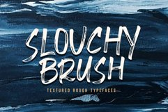 Slouchy Brush Fonts Product Image 1