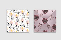 10 Floral Seamless Patterns Collection Product Image 4