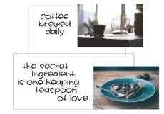 One Teaspoon - Handwritten Font Product Image 5