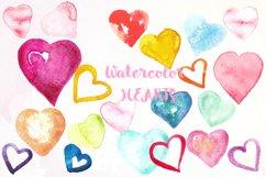 Love watercolor bundle. Valentine. Product Image 2