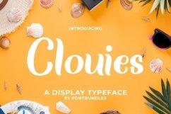 Web Font Clouies Product Image 1