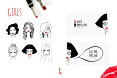 Red lips kit Product Image 2