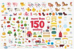 Perfect Sweet - Font Trio and 150 Colourful Vectors Product Image 2