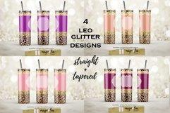 leopard glitter tumbler wrap png 20 oz tumbler bundle Product Image 1