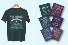 Travel. Hand lettering in color. Product Image 3