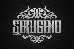 Sirugino Typeface Product Image 1