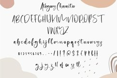 Web Font Allegory - Calligraphy Font Product Image 2
