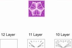 Layered Mandala SVG, Laser cut file Mandala, 3D Flower Product Image 8