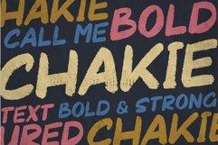 Chakie - Retro Brush Fonts Product Image 2