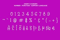 Angry & Hungry Twin Cute Fonts Product Image 3