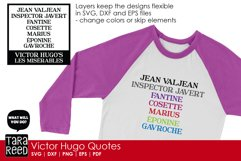 Victor Hugo Quotes from Les Miserables - SVG & Cut Files Product Image 5
