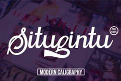 Situgintu Calligraphy Product Image 1