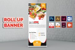 Restaurant Roll Up Banner Vol-02 Product Image 3