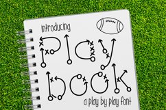 Play Book a Play by Play Font Product Image 1