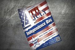 4th JULY FLYER TEMPLATE | Independence Day Template Product Image 2
