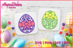 MANDALA EASTER EGGS SVG 3 MANDALA / ZENTANGLE DESIGNS Product Image 5