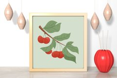 Cherry hand drawn clip art Product Image 2