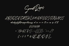 Soundrops Font Product Image 6