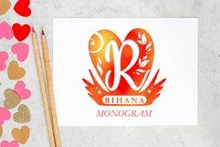 Rihana Monogram Product Image 1