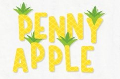 Stand Tall - A Fun Pineapple Layered Font Duo Product Image 2