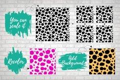 Cheetah Leopard SVG Print, Seamless Vector Animal Pattern Product Image 2