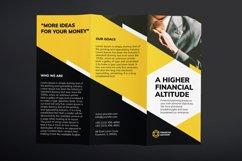 Financial Advisor Brochure Trifold Product Image 2