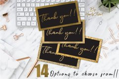 Gold foil digital papers Product Image 3