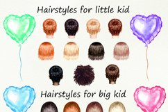 Motrher's day watercolor customizible clipart. Product Image 3