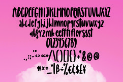 Web Font Blessings - Girly Handlettered Font Product Image 6