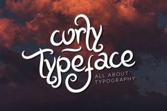 Megilan Curly Typeface Product Image 2