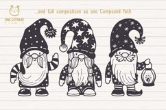 Scandinavian Gnomes SVG, Gnome Clipart, Tomte Product Image 5