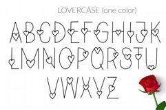 Love Valentines svg color font Product Image 3