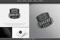 pancake, vintage bakery logo Ideas. Inspiration logo design. Product Image 1